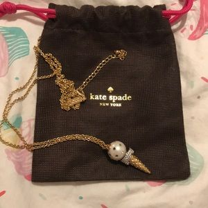 KATE spade ice cream necklace